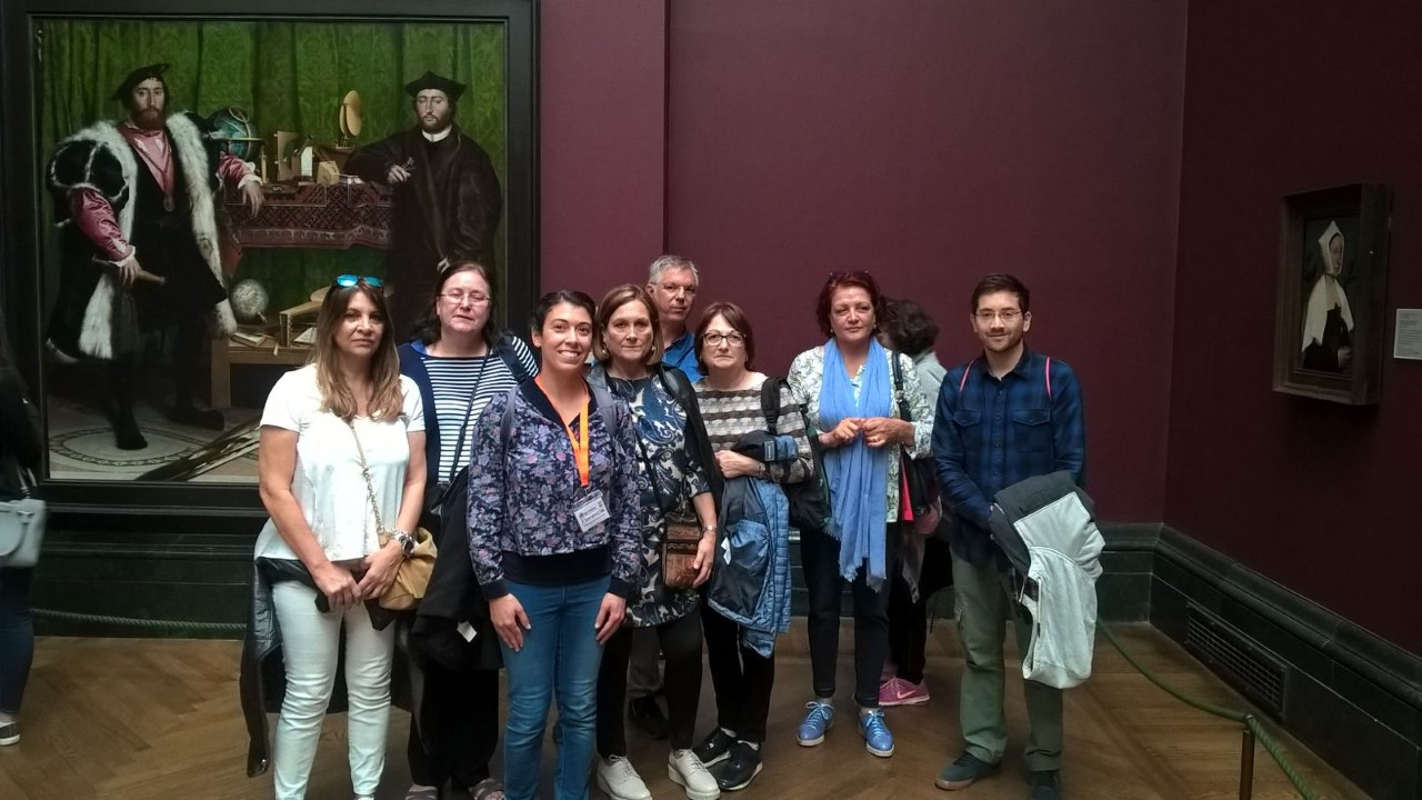 Tour Semanal de National Gallery, Cuadro museo