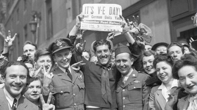 75 aniversario del final de la II guerra mundial.