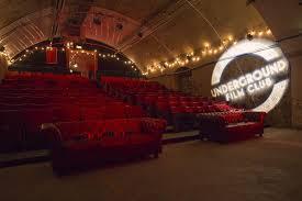 Cine subterráneo en Londres