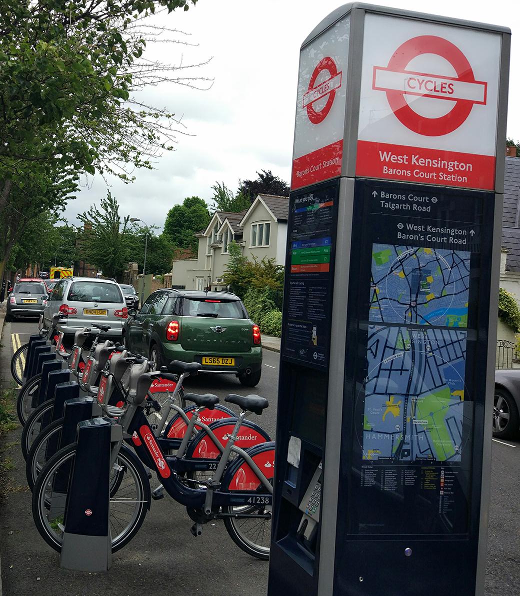 alquiler de bicicletas en Londres