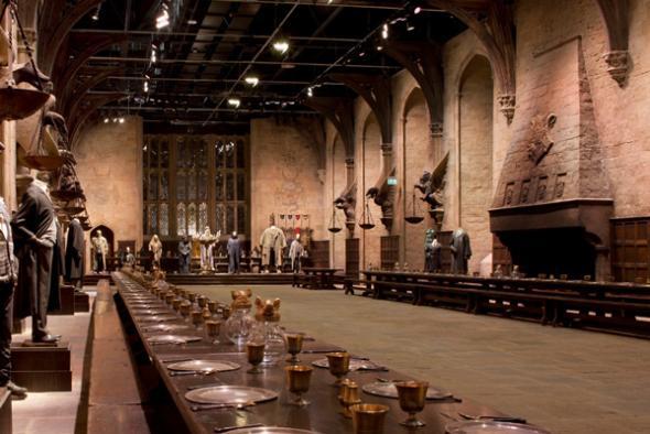 Comedor Estudios Harry Potter