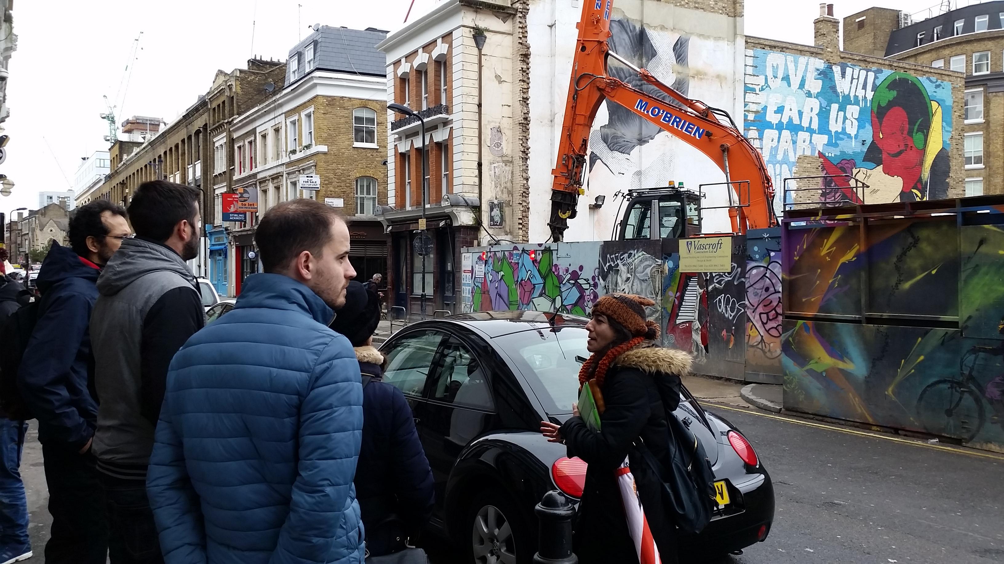 Grafiti Arte - Torre de Londres
