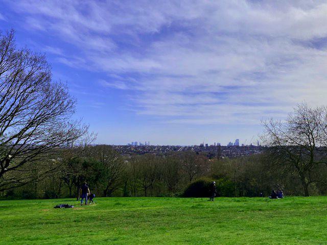 Vistas desde Alexandra Palace
