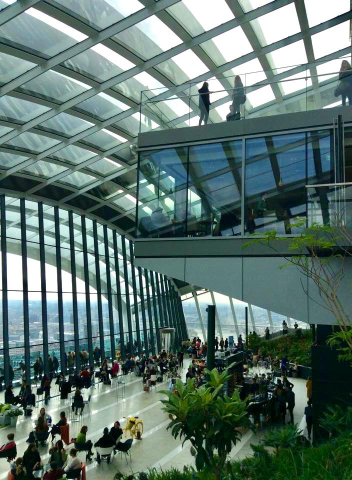 Sky Garden: El mejor mirador de Londres