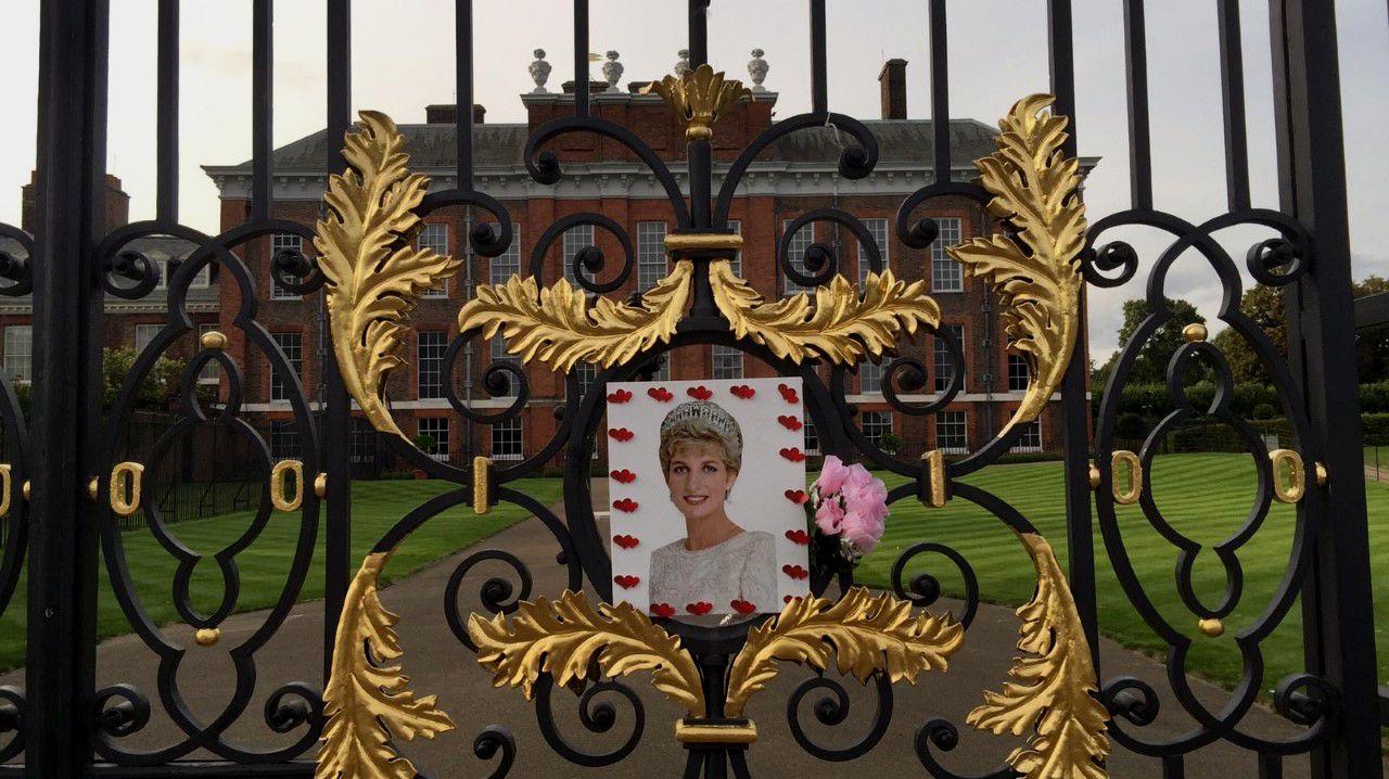 Memoria a Diana de Gales en el palacio de Kensington