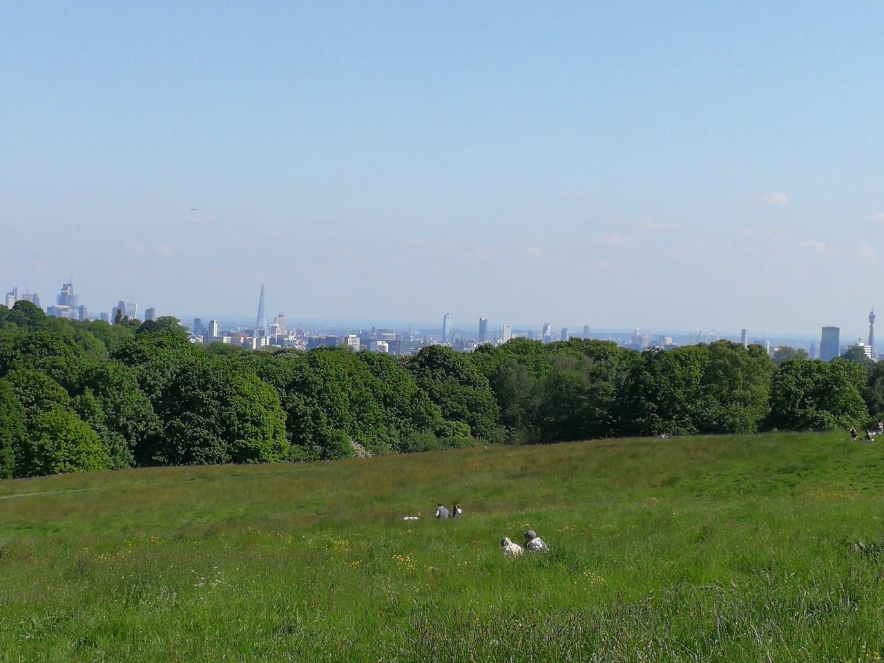Vistas desde Hampstead Head