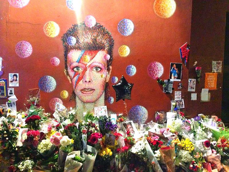Memorial de David Bowie en Londres