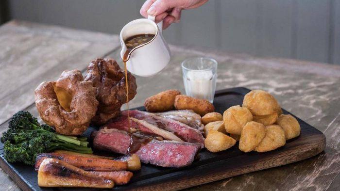 Los platos típicos de la gastronomía británica.
