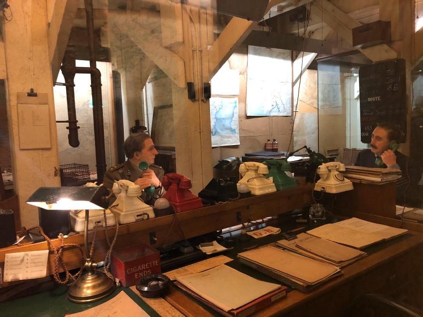 Visita virtual por las habitaciones de guerra de Winston Churchill