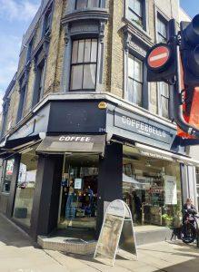 Cafetería rodaje película Notting Hill
