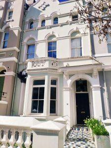 Escenarios rodaje película de Notting Hill