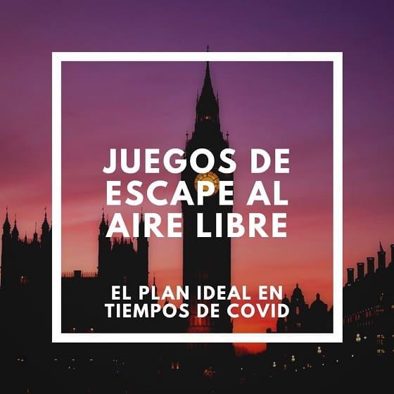 Juegos de Escape al aire libre en Londres, Free Tours en español