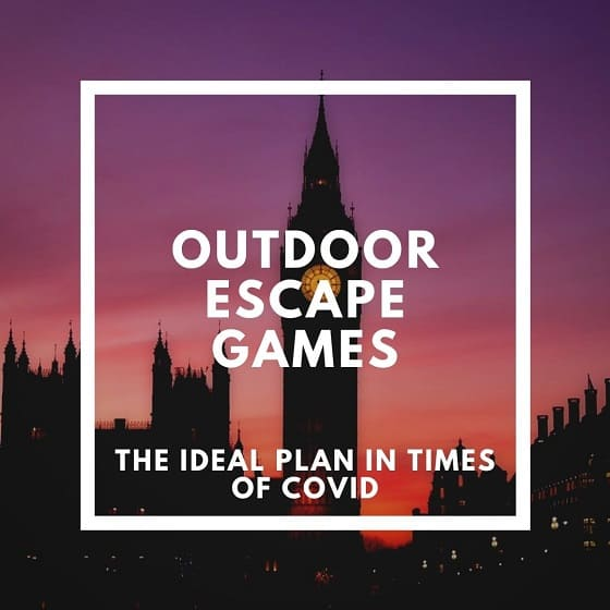London Outdoor Escape Games and Free Walking Tours