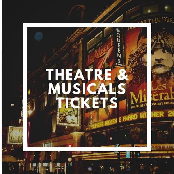 London West End Tcickets and Free walking Tours