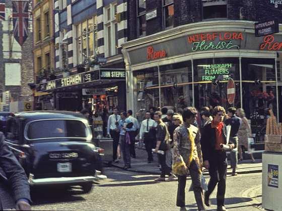 Trans en Londres en Carnaby Street