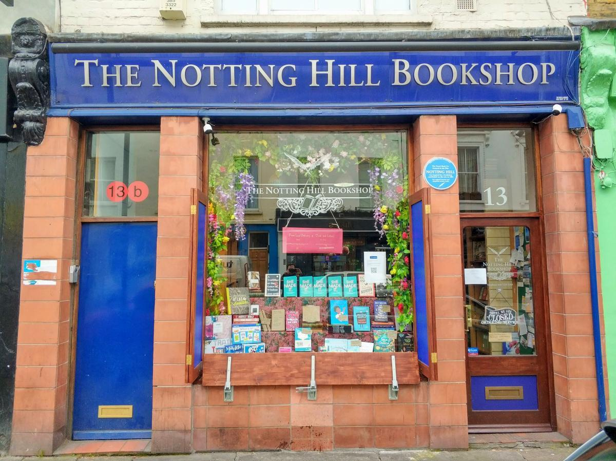 Checkpoint 7 - The Notting Hill Bookshop