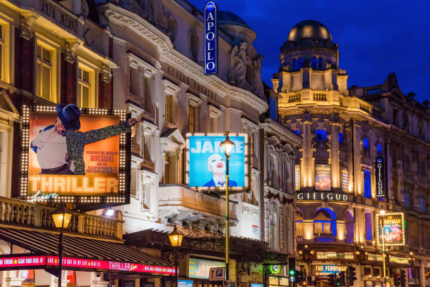 west end londres de noche